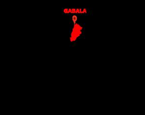 gabala map