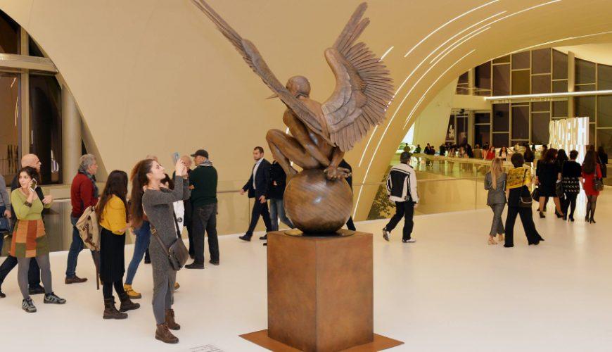 heydar aliyev center art