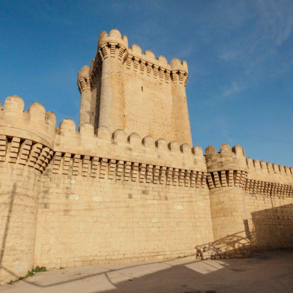 mardakan castle from outside